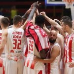 @kkcrvenazvezda, in the Final; @PartizanBC, stopped in their home court (@KLSrbije, #KLSRB)