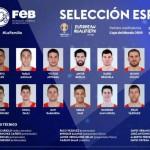 Lista (FEB) de 16: Novedades para la Tercera Ventana de Clasificación FIBA (y MVP)