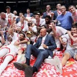 @kkcrvenazvezda is the Serbian champion for fourth time in a raw (@KLSrbije, #KLSRB)