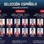 Ouviña, Casas, Arrojo, Araújo, Abalde y la #SelFem FEB 2018 (#FIBAWWC @FIBA)