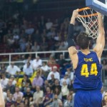 ACB: Primer Partido de Liga, Primera Victoria del Barcelona ((44) Ante Tomić, MVP)