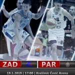 @ABA_League: @PartizanBC is searching revenge against @kkzadar (Božić, MVP)