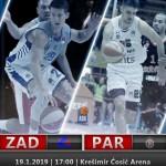 @ABA_League: @PartizanBC is searching revenge against @kkzadar (Božić, MVP)