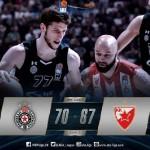 @ABA_League: @kkcrvenazvezda 1, @PartizanBC 1 (Renfroe, Landale, Veličković)