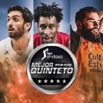 Liga ACB 2018-2019: Heurtel, Beirán, Jaime, Shengelia y Poirier, Segundo Quinteto