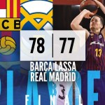 Playoffs ACB 2019, Final: Primera Victoria del Barcelona, 2 a 1 (Heurtel, MVP)