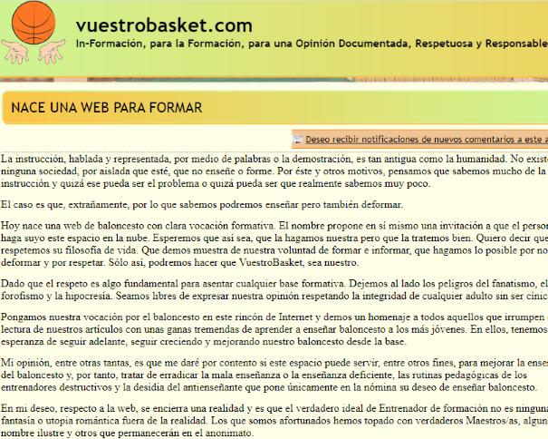 vuestrobasket.com