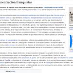 COVID-19 Coronavirus SARS-CoV-2: Campo de Exterminio (Sí, Franquistas, Iglesia)